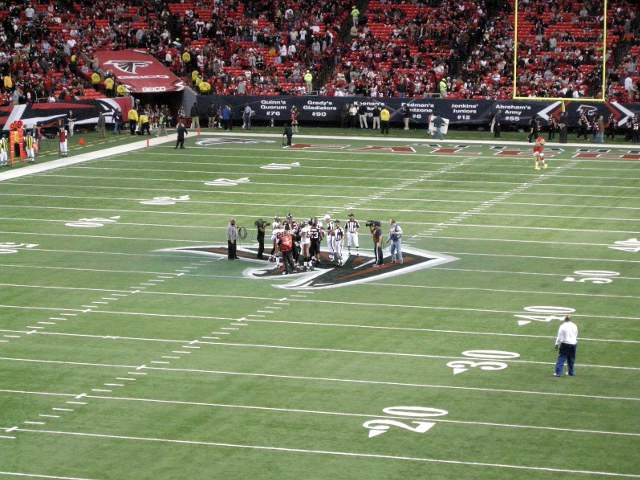 Atlanta Falcons Lower Level Corner