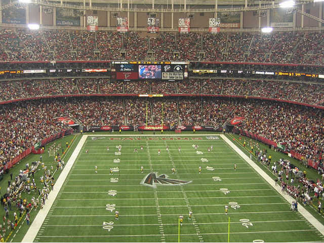Atlanta Falcons Upper End Zone
